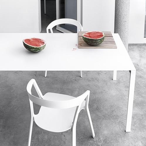 Kristalia - Thin-K Aluminium Tisch Ausziehbar
