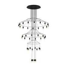 Vibia - Suspension LED Wireflow Chandelier 0378