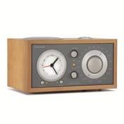 Tivoli - Tivoli Model Three BT Radiowecker Bluetooth - kirsche/taupe/glänzend/L x B x H: 13 x 22 x 11cm