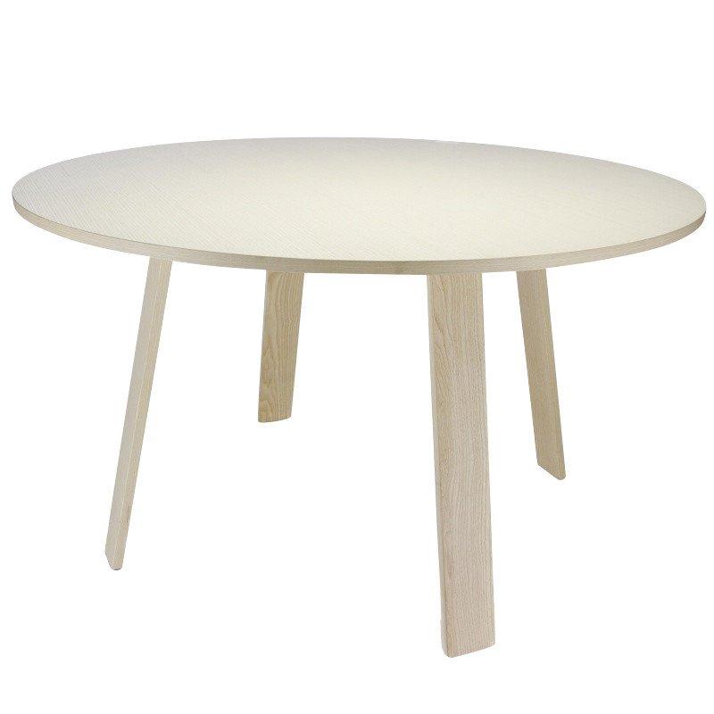 AuBergewohnlich Cappellini   Bac Tisch Rund Ø125cm   Esche Gebleicht/Holz ...