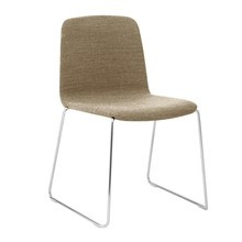 Normann Copenhagen - Just Chair Gestell Chrom Stoff