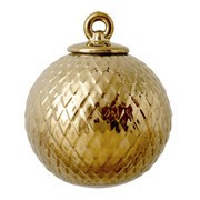 Lyngby Porcelæn - Babiole décoration/ boule de Noël Rhombe