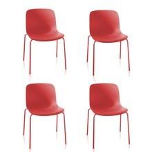Magis - Magis Troy - Set de 4 chaises de jardin