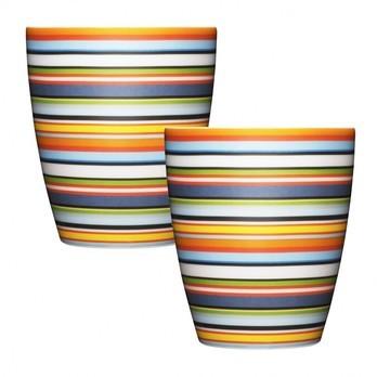 iittala - Origo Becher 2 Stück - orange/0,25L