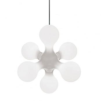 Kundalini - Atomium Ceiling Pendelleuchte - weiß RAL 9003/Polyethylen/LxBxH 62x58x52cm