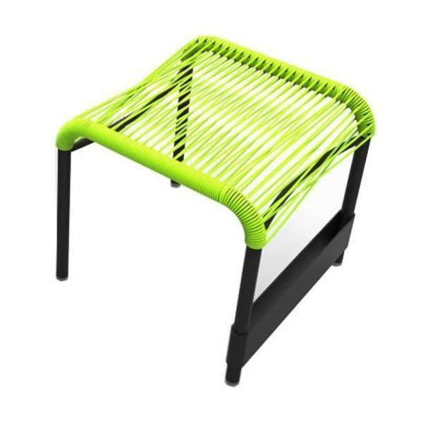 Saint tropez fauteuil bas fermob for Chaise longue avec repose pied