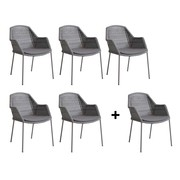 Cane-Line - Promo Set Breeze Outdoor Armchair 5+1 for free