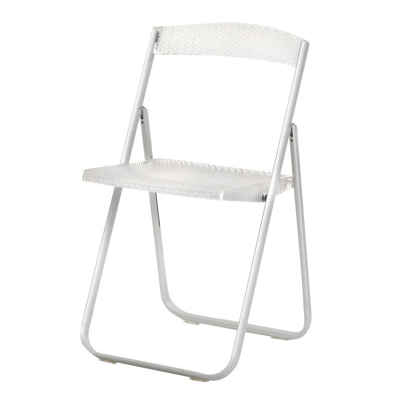 ... Kartell   Honeycomb Folding Chair   Transparent/polycarbonate/frame  Aluminium ...