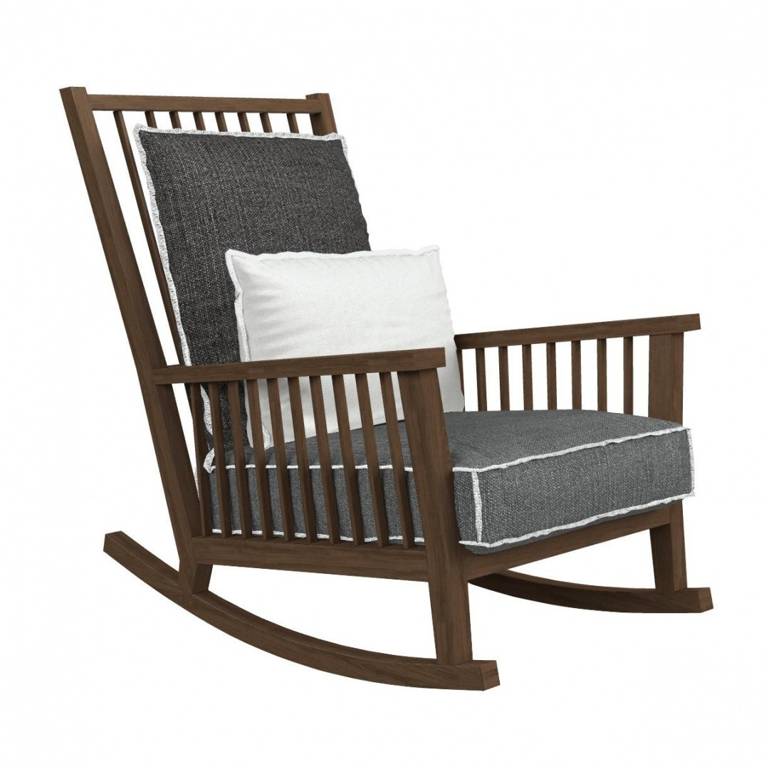 Gervasoni Gray 09 Rocking Chair