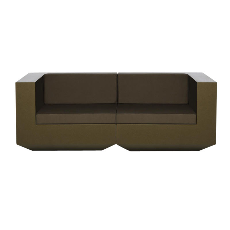 Vela sofa 2 sitzer vondom for Couch 45 grad