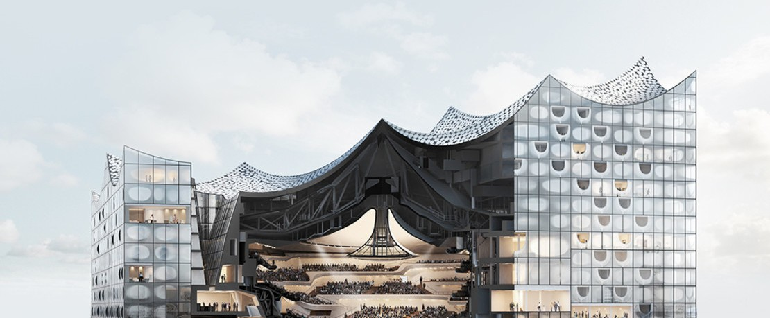 Magazin Architektur Elbphilharmonie
