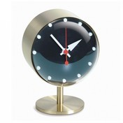 Vitra - Night Clock Nelson Tischuhr - messing/acrylglas/Ø10.5cm