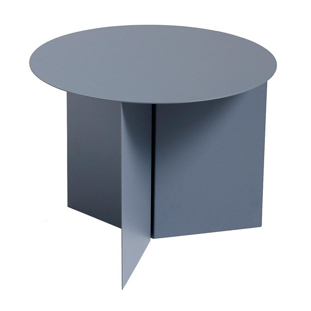 hay slit table round beistelltisch ambientedirect. Black Bedroom Furniture Sets. Home Design Ideas