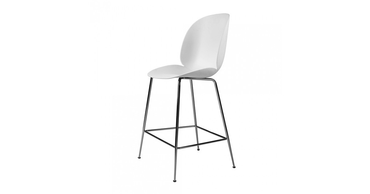 Gubi Beetle Counter Chair Barhocker Chrom 108cm Ambientedirect