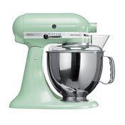 KitchenAid - Artisan 5KSM150 - Robot ménager - pistache/laqué