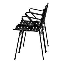 Lehni - Elox Stuhl mit Armlehnen