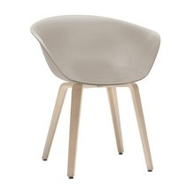 Arper - Duna 02 4203 Chair With Wood Frame