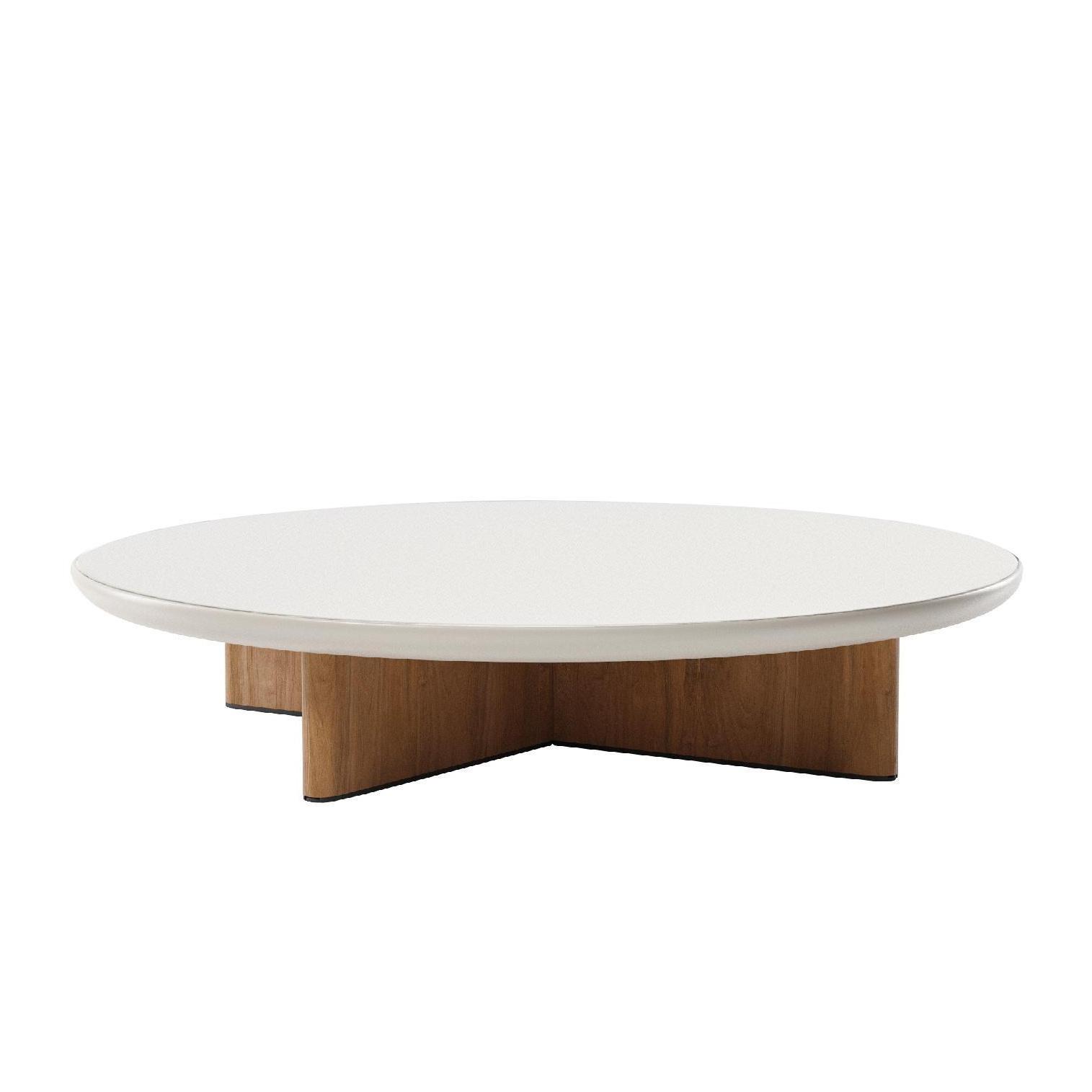 Teck Pie Ø182cm Basse Jardin Table Cala De QtdshCr