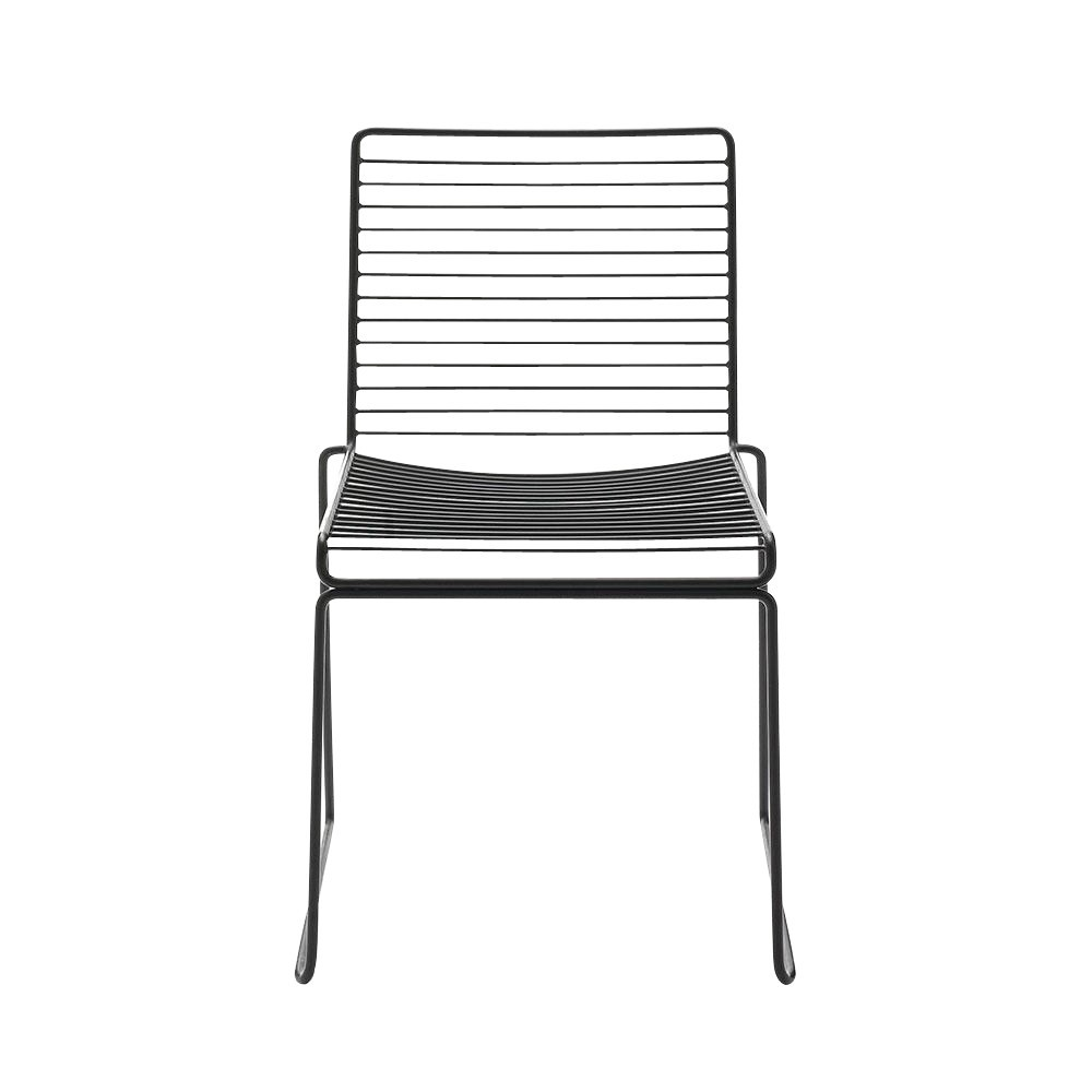 Hay hee dining chair black lacquered 47 5x79x50cm seat height