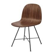Gubi - Chaise 2D Dining Chair structure noir