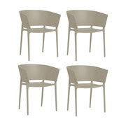 Vondom - Africa Armchair 4 Piece Set