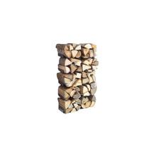 Radius - Wooden Tree Firewood Shelf small