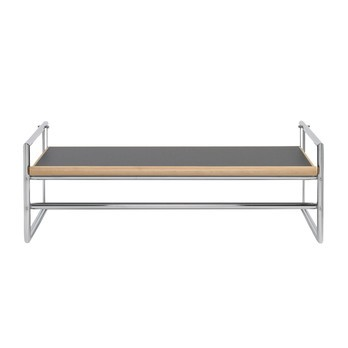 ClassiCon - Menton Beistelltisch - grau/schwarz/ 126x56cm