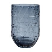HAY - Colour Vase L - blau/Ø13.5cm/H 19cm