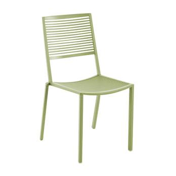 Weishäupl - Easy Gartenstuhl - khaki grün/pulverbeschichtet