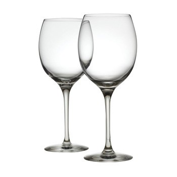 Alessi - Mami XL Weißweingläser-Set 2tlg. - transparent/45cl