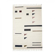 ferm LIVING - Kelim Colour Triangles Rug large