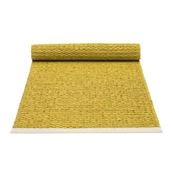 pappelina - Mono Tischläufer 36x100cm - senf - zitrone/Kante geschweißt/für Innen- und Außenbereich geeignet