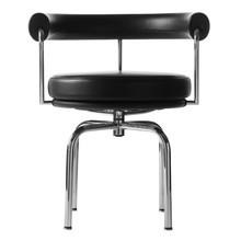 Cassina - Le Corbusier LC7 - Draai/armleuntoel