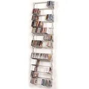 Patte - Stretch CD Regal Full Size Breit - aluminium/Aluminium/13 Fächer