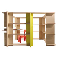 Magis - My First Office Regalwand Kinderzimmer