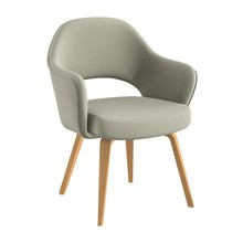 Knoll International - Saarinen Conference Armchair - oak