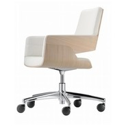 Thonet - Thonet S 845 DRW Office Chair with wheels