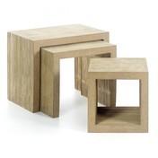 Vitra: Hersteller - Vitra - Low Table Set Beistelltisch 3er Set