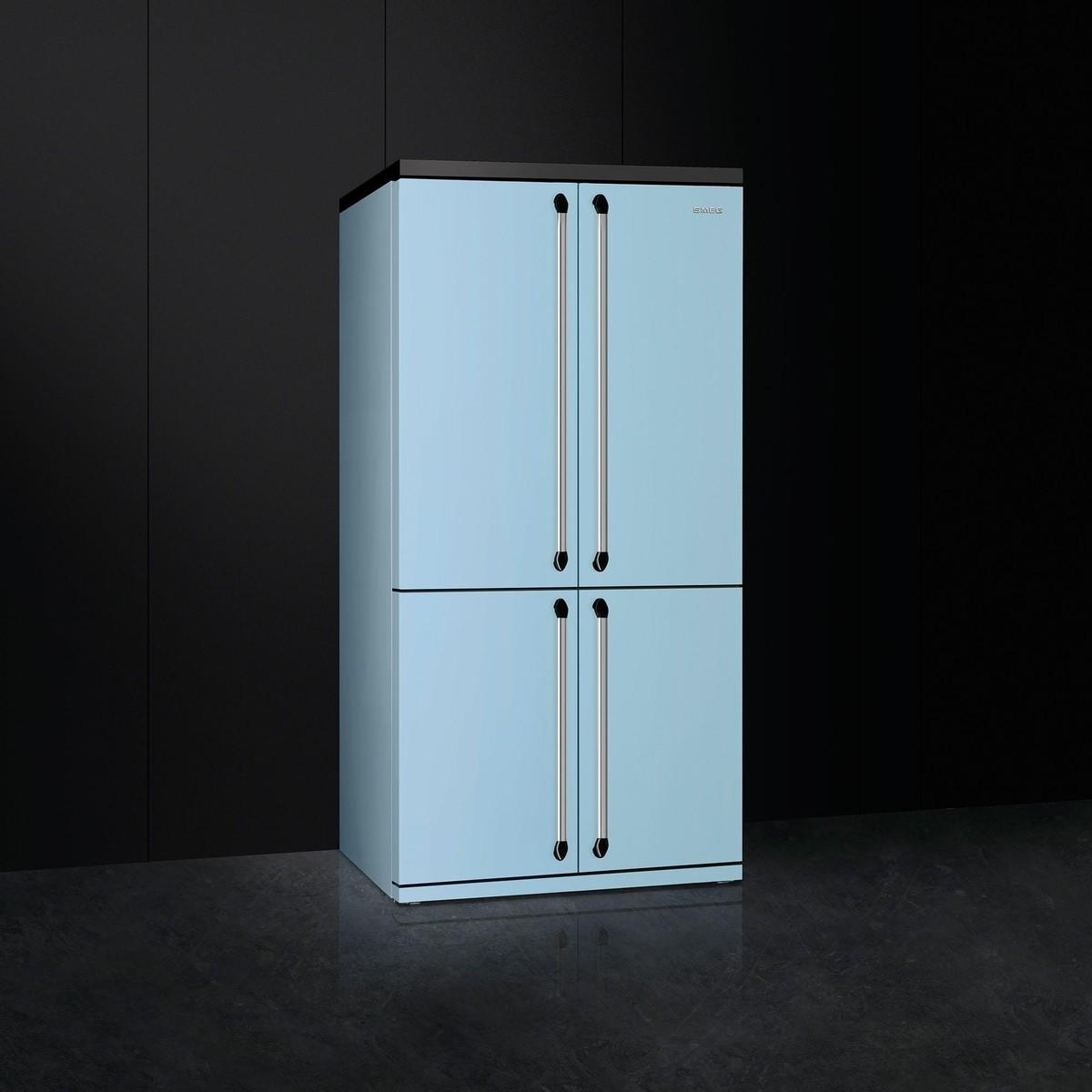 fq960pb side by side refrigerator smeg. Black Bedroom Furniture Sets. Home Design Ideas