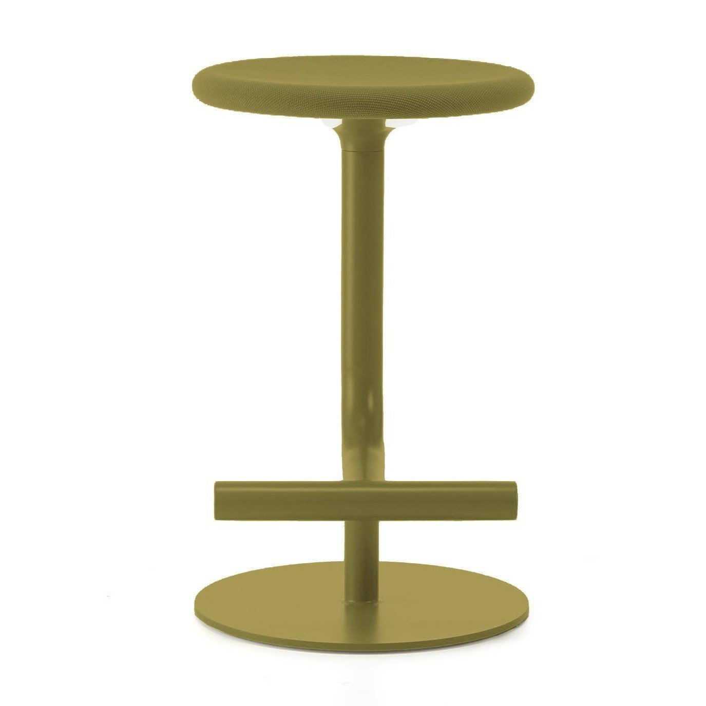 Magis Tibu Bar Stool Upholstered 60 70cm Ambientedirect
