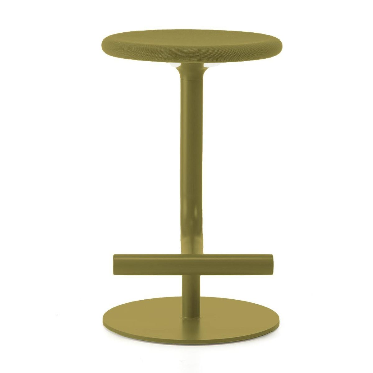 Tibu Bar Stool Upholstered 60 70cm Magis