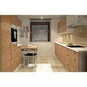 KitchenForm - Profi Fitted Kitchen - front oak/white