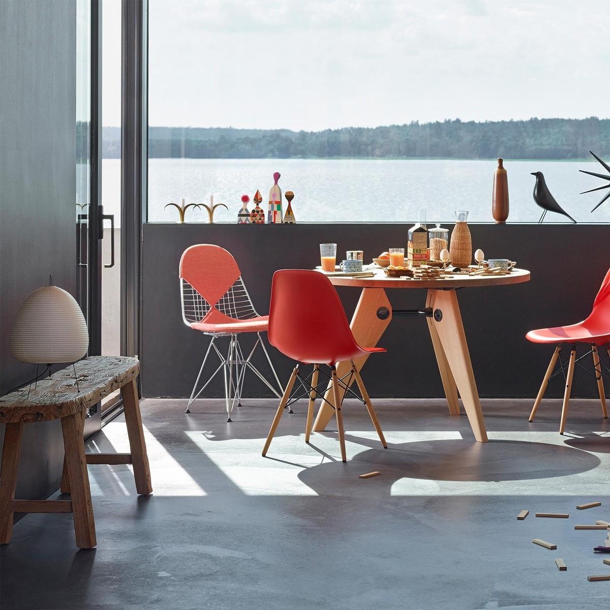 akari furniture. delighful furniture vitra  akari 1a noguchi table lamp intended furniture