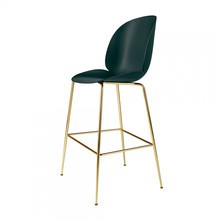 Gubi - Beetle Bar Chair Barhocker Messing 118cm