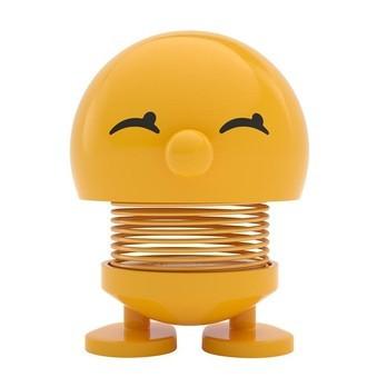 Hoptimist - Hoptimist Baby Bimble Wackelfigur - gelb/glänzend/H6,5cm/Ø5,0cm/mit Federmechanismus