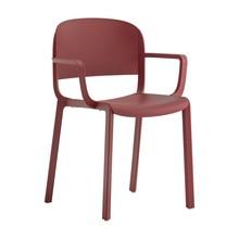 Pedrali - Chaise de jardin avec accoudoirs Dome 265