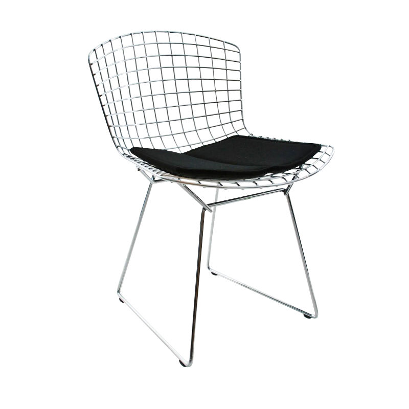 Perfect Knoll International   Bertoia Chair Cushion   Black/Tonus 128
