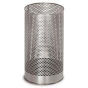 Blomus - Pako Wastebasket 65115 - stainless steel/stainless steel/with plastic insert/H: 38,0 cm