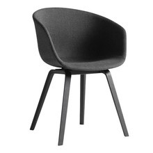 HAY - About a Chair AAC 23 Armchair Upholstered Black Oak Base