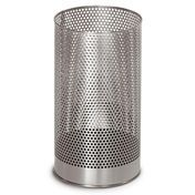 Blomus - Pako Wastebasket 65115 - stainless steel/stainless steel/with plastic insert/H: 38,0 cm